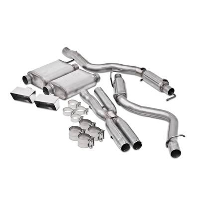 2008+ Dodge Challenger V8 6.1L Dynomax Performance Ultra Flo Exhaust System