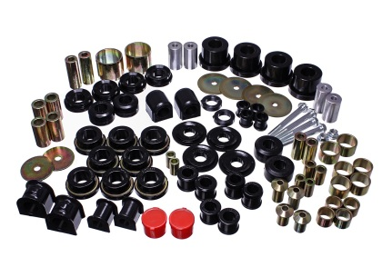 2015-2016 Ford Mustang Energy Suspension Hyper-Flex Master Bushing Set -Black