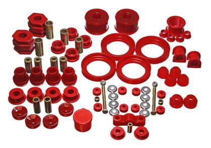 2015-2016 Ford Mustang Energy Suspension Hyper-Flex Master Bushing Set -Red