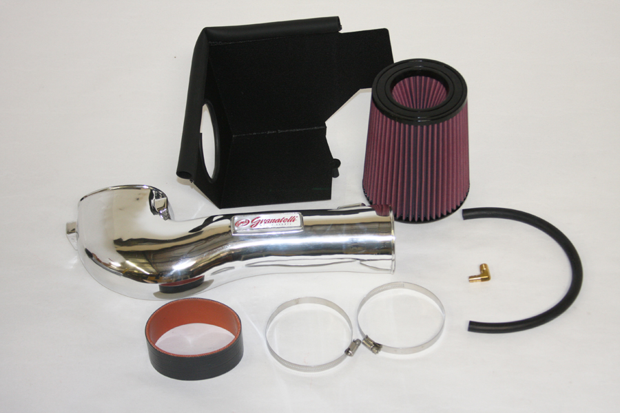 2010 Ford Mustang 4.6L Granatelli Motorsports Cold Air Intake - Polished Finish