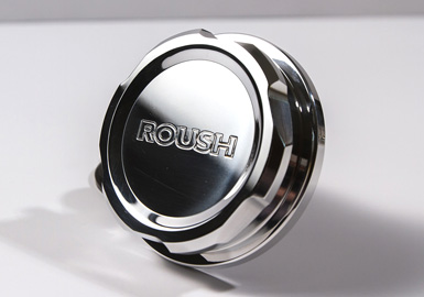 1996+ Ford Mustang Roush Performance Polished Billet Radiator Cap