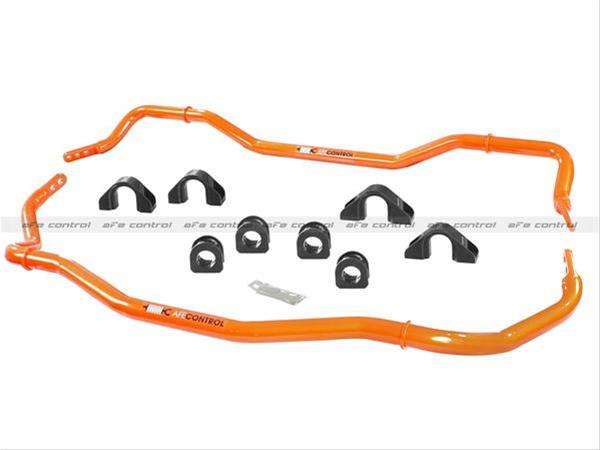 2015+ Ford Mustang aFe Power Front & Rear Tubular Sway Bar Kit