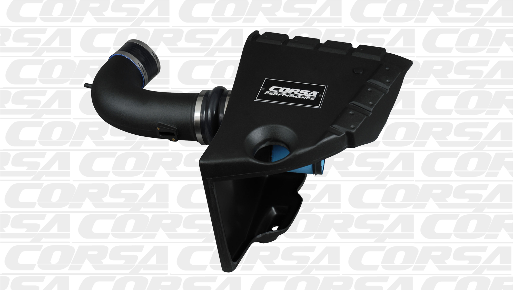 2010-2015 Camaro SS LS3 Corsa Performance PowerCore Closed Cold Air Intake Kit