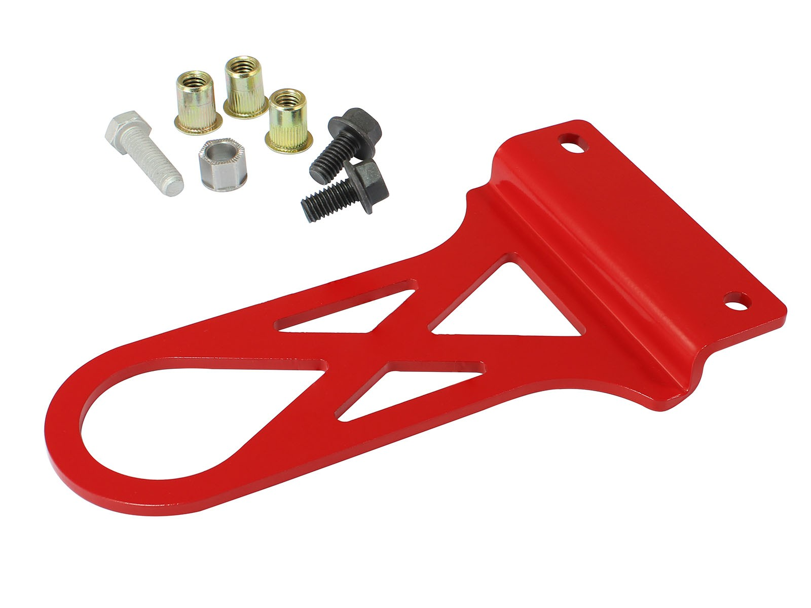 1997-2004 C5 Corvette aFe Power aFe Control PFADT Series Front Tow Hook - Red