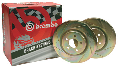 98-02 LS1/V6 Brembo Front Slotted Rotors (Pair)