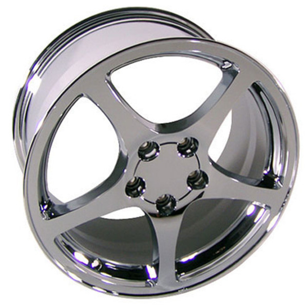 "OE Wheels Corvette C5 Y2K Replica Wheel - Chrome 18x9.5"" (65mm Offset)"