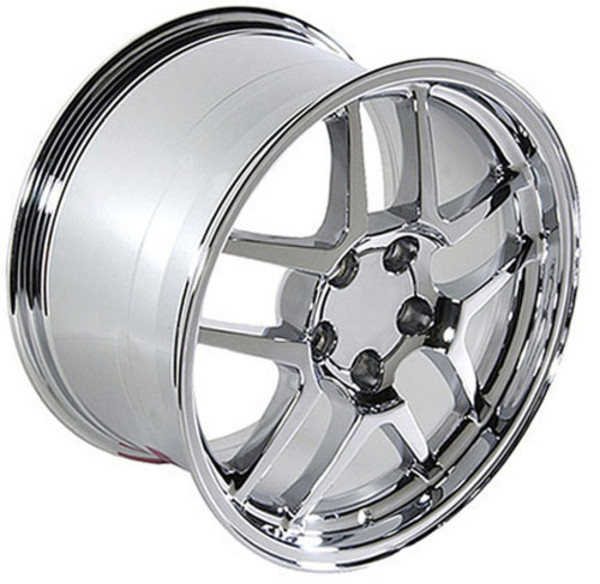 "OE Wheels Corvette C5 Z06 Replica Wheel - Chrome 18x10.5"" (56mm Offset)"