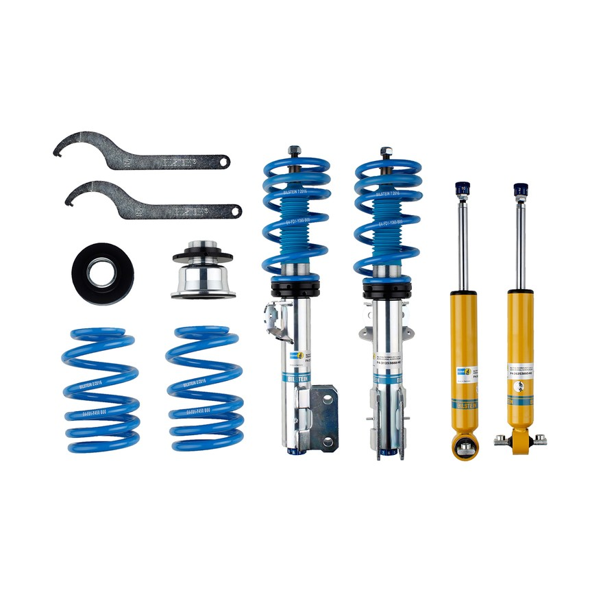 2015-2017 Ford Mustang GT 5.0L Bilstein B16 Front & Rear Suspension Kit