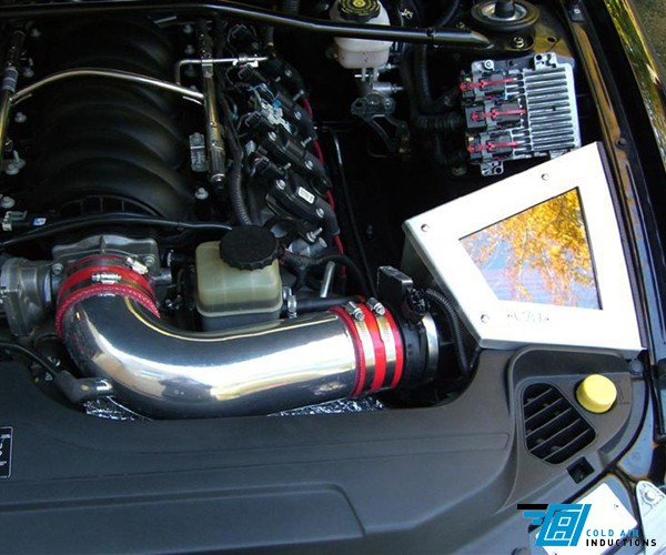 2005-2006 Pontiac GTO LS2 Cold Air Inductions Cold Air Intake - Ceramic Coated Finish