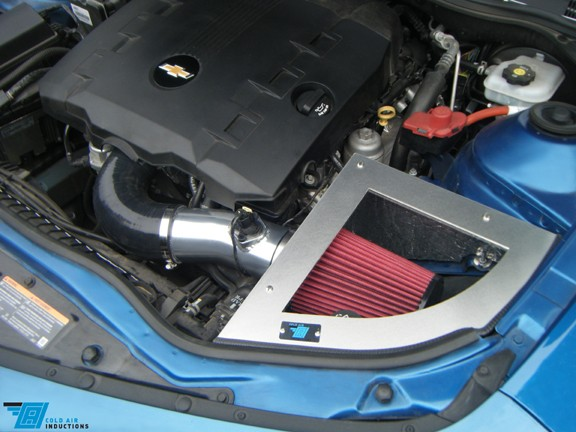 2010-2011 Camaro 3.6L V6 Cold Air Inductions Cold Air Intake - Ceramic Coated Finish