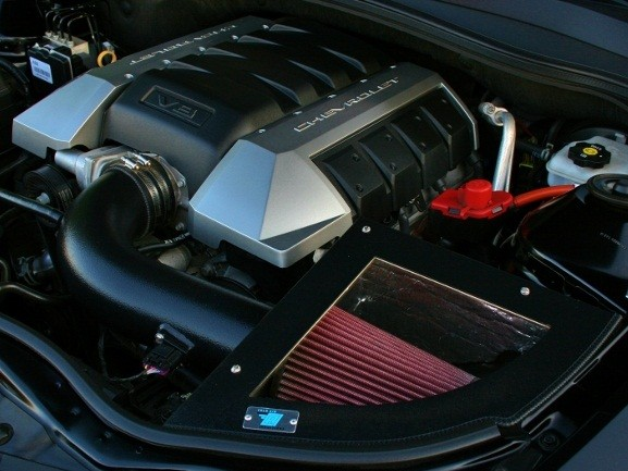 2010+ Camaro SS LS3 6.2L Cold Air Inductions Cold Air Intake - Black Powdercoat Finish