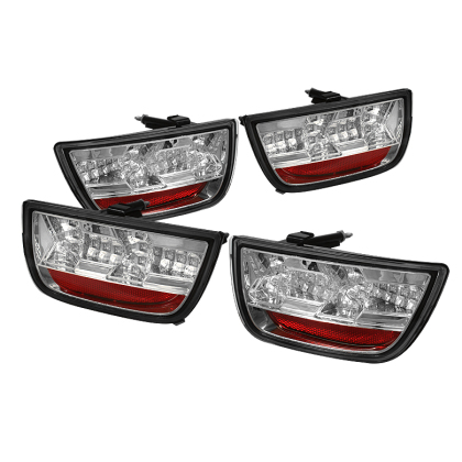 2010-2013 Camaro Spyder LED Taillights - Clear