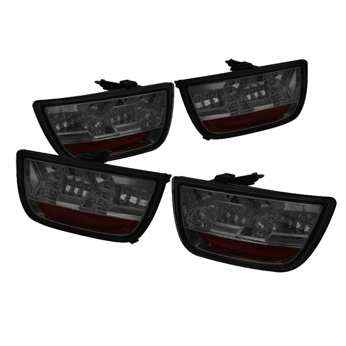 2010-2013 Camaro Spyder LED Taillights - Smoke