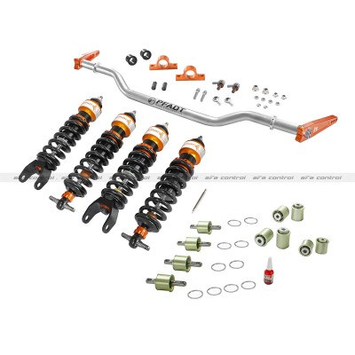 06-13 C6 ZO6/ZR1 Corvette aFe Control PFADT Series Stage 3 Drag Suspension Package