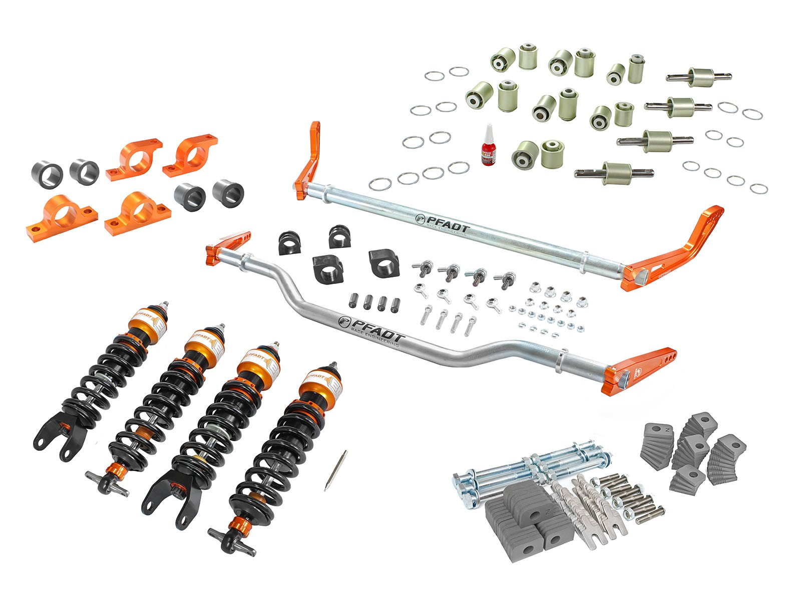 05-13 C6 Corvette aFe Control PFADT Series Stage 3 Suspension Package