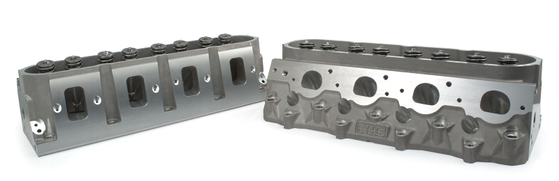 "LS7 RHS Pro Elite CNC Ported Cylinder Heads (.660"" Lift & Chromemoly Steel Retainers)"
