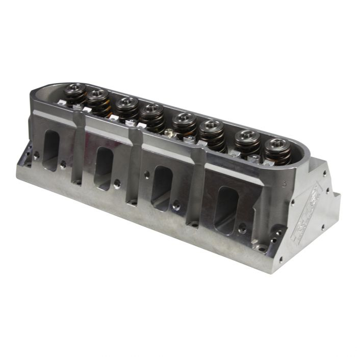 "RHS Pro Elite GM LS3 CNC-Port 6-Bolt Aluminum Cylinder Head -w/.700"" Lift Springs & Titanium Int./Inconel Exh. Valves"