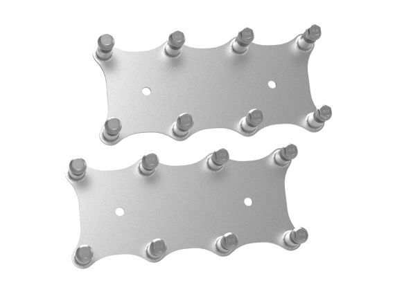 Gen III LS Holley Remote Coil Relocation Brackets