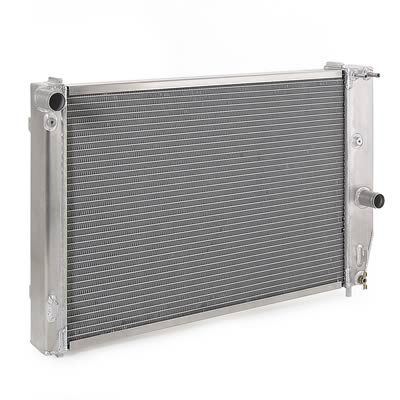 97-04 C5 Corvette BeCool Direct Fit Aluminum Radiator - Natural Finish