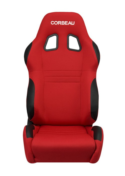 Corbeau A4 Seats - Red Cloth
