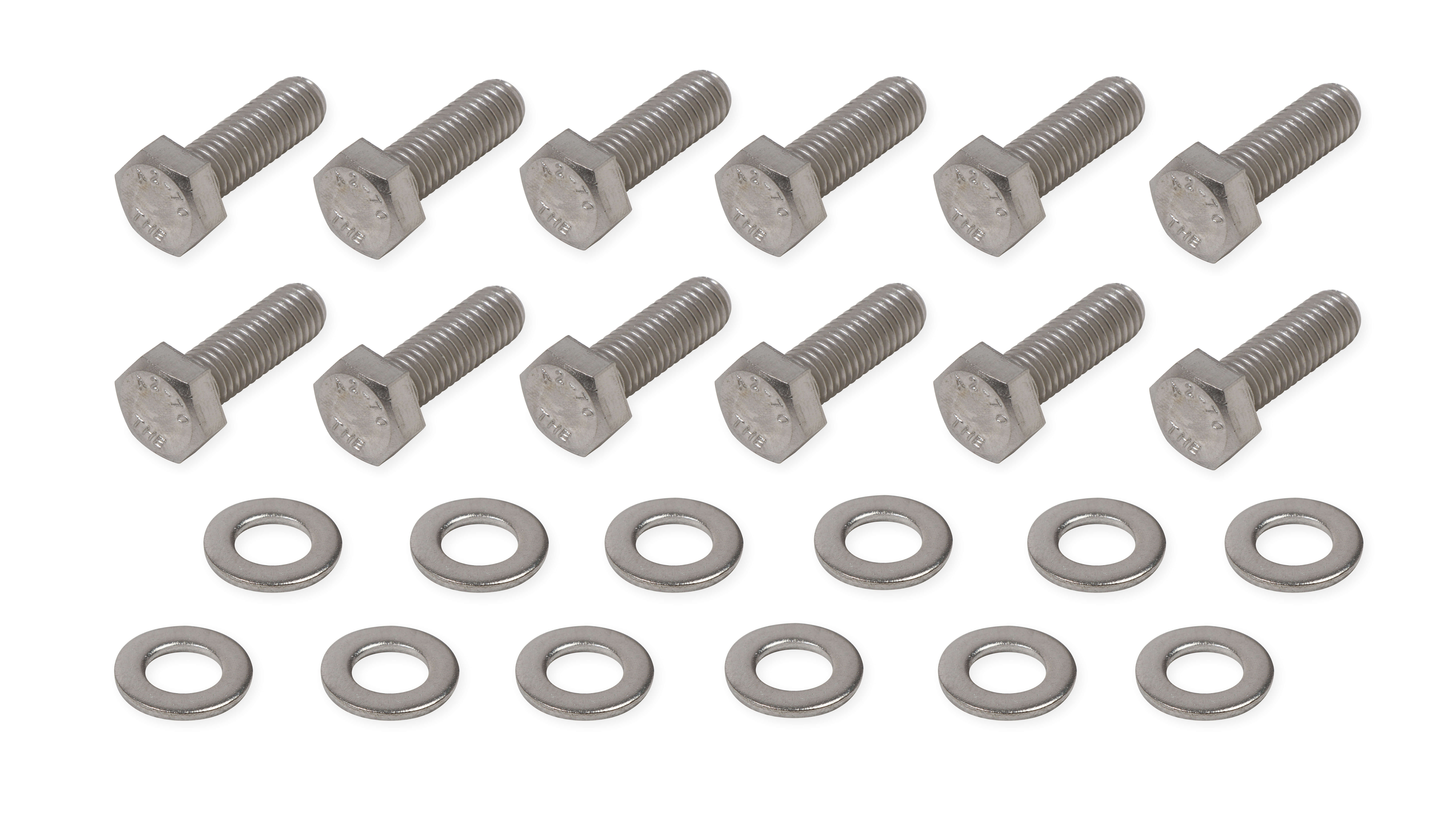 Mr. Gasket LS Rear Cover Stainless Steel Bolt Set
