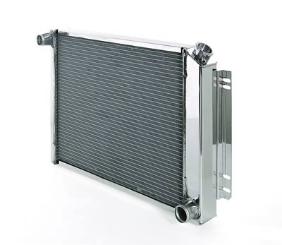 97-04 C5 Corvette BeCool Direct Fit Aluminum Radiator - Polished Finish