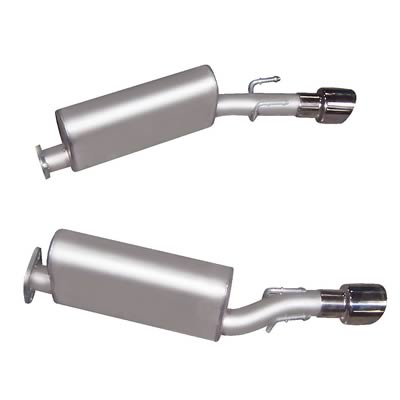 "2005-2006 Pontiac GTO Gibson Performance ""Muscle Car"" Aluminized Axle Back Exhaust System"