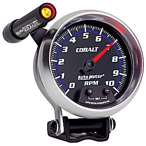 "Auto Meter Cobalt 3 3/4"" 10,000RPM Shift-Lite Mini-Monster Tachometer"