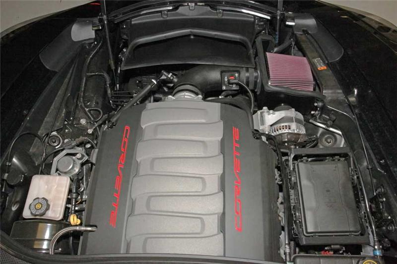 2014+ C7 Corvette K&N Aircharger Performance Cold Air Intake
