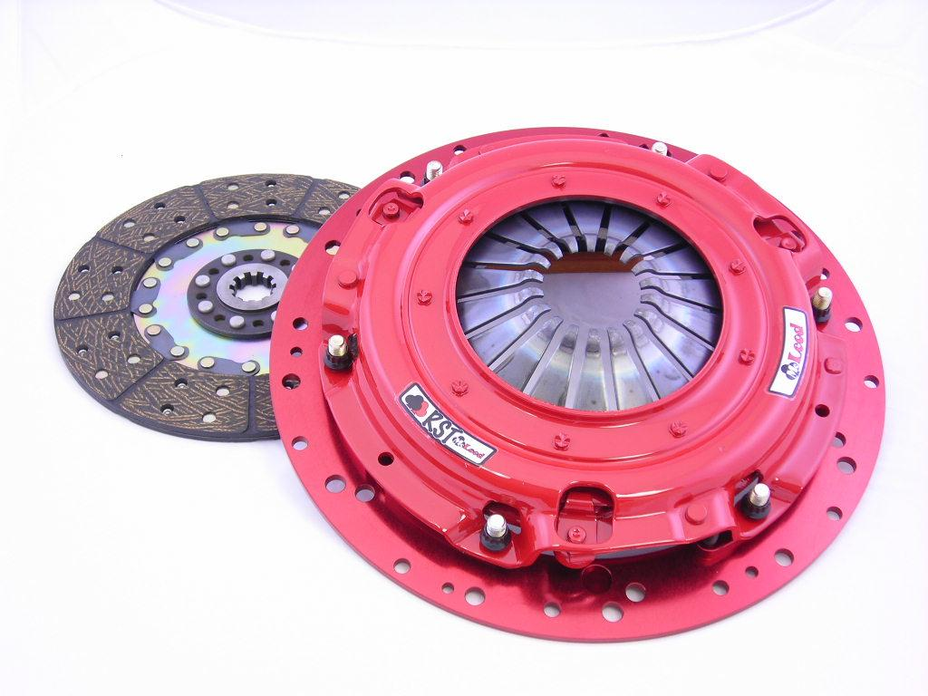 2009+ CTS-V McLeod RST Twin Disc Clutch w/Steel Flywheel