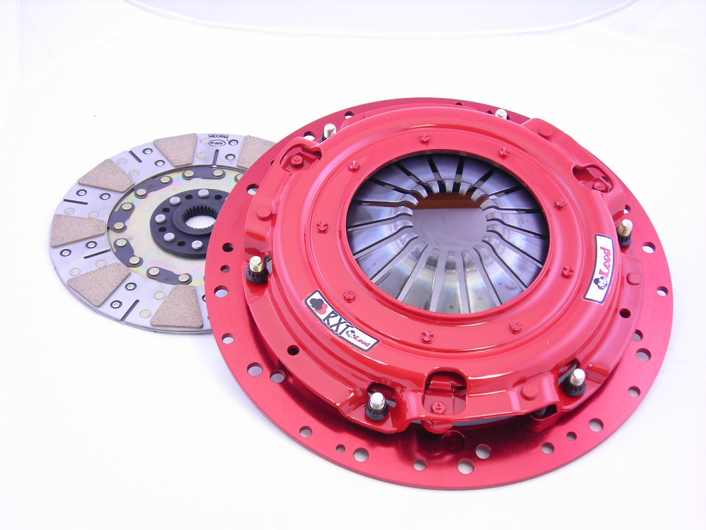 2009+ Cadillac CTS-V V8 McLeod RXT Twin Disc Clutch w/Steel Flywheel