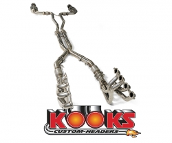 "2009+ Cadillac CTS-V Kooks Complete Exhaust System (1 7/8"" Headers and Mid Pipes for Corsa Exhaust)"