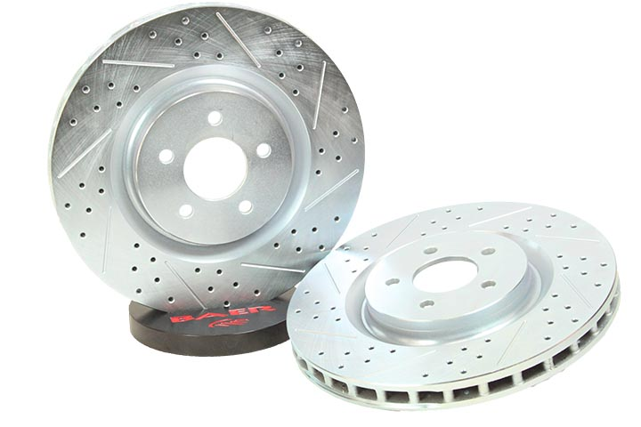2007-2012 Ford Mustang GT500 Baer Front Sport Rotors