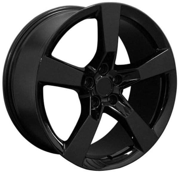 "OE Wheels Camaro SS Replica Wheel - Black 20x9"" (35mm Offset) Set of 4"