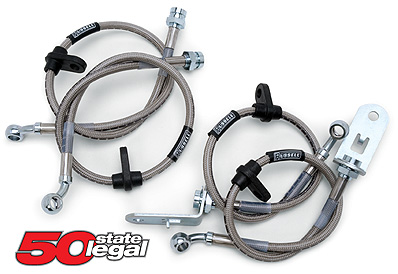 97-04 C5/Z06 Russell Stainless Steel Brake Line Kit