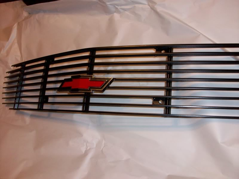 98-02 Camaro 6LE Designs Black Billet Grille w/Red Bowtie Emblem