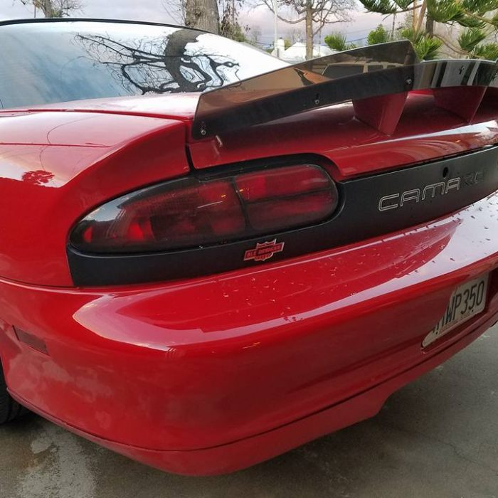 98-02 Camaro 6LE Designs Rear Red Taillight Mod