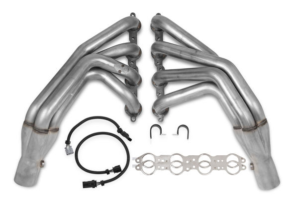 "2006-2013 C6/ZO6 Corvette Hooker Headers Blackheart 1 7/8"" x 3"" Stainless Longtube Race Headers"