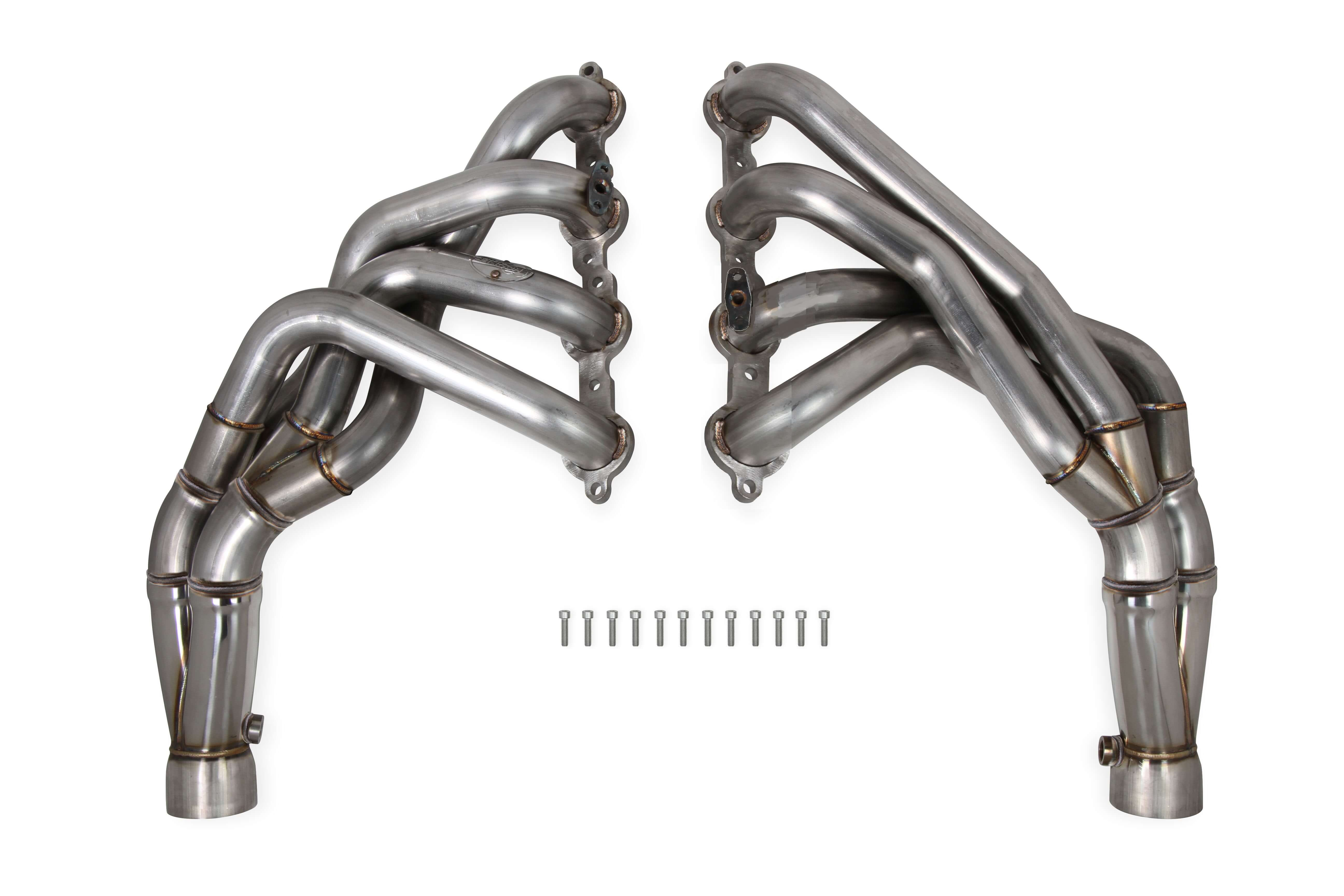 "2001-2004 C5/ZO6 Corvette Hooker Headers 1 7/8"" 304 Stainless Tri-Y Long Tube Headers"