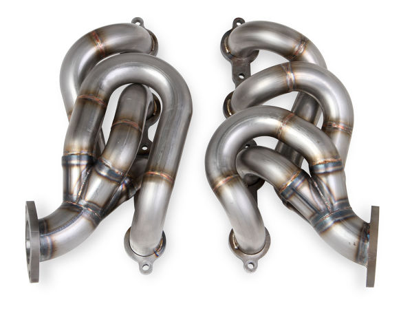 "2010+ Camaro SS Hooker Blackheart 1 7/8"" Stainless Shorty Headers - Raw Finish"