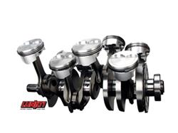 "LS2/LS3 Lunati Voodoo Crankshaft & Connecting Rods Kit - 4.000"" Stroke, 6.125"" Connecting H-Beam Rods, 24x Reluctor"