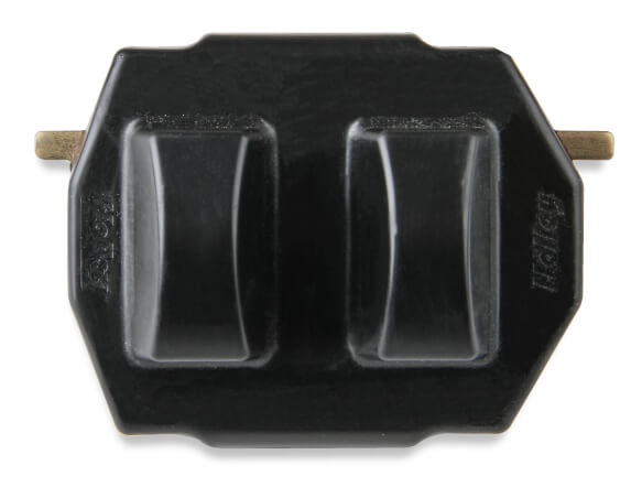 Holley GM LS/LT Polyurethane Engine Mount - Black