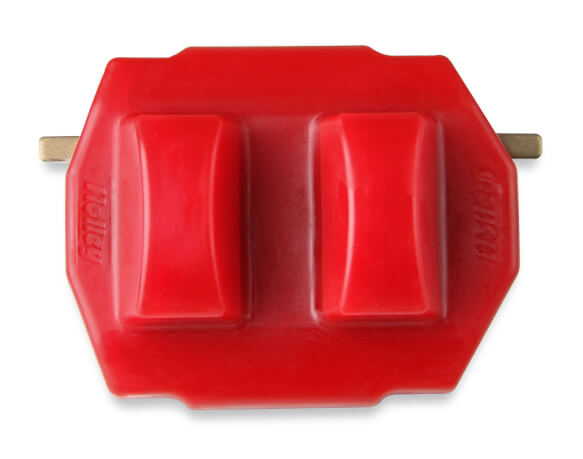 Holley GM LS/LT Polyurethane Engine Mount - Red