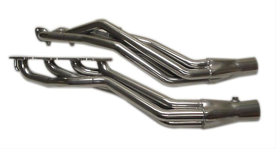 "2003-2007 Dodge Ram 1500 Pacesetter 1 7/8"" Long Tube Headers - Silver Ceramic Coated"