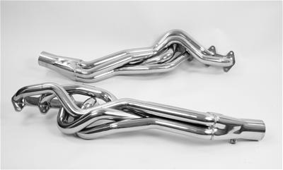 2005-2010 Ford Mustang GT PaceSetter Performance Long Tube Headers - Ceramic Coated