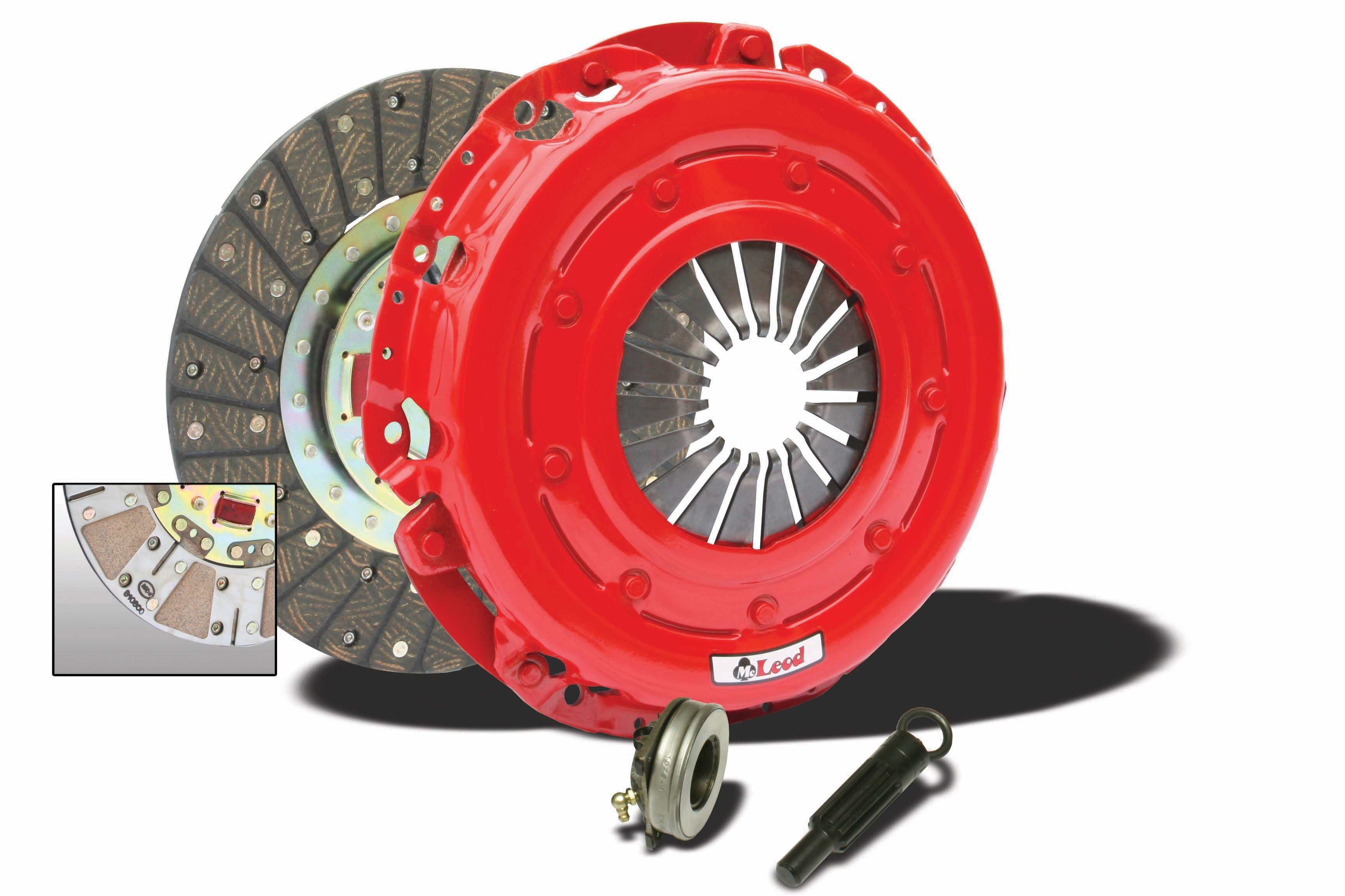 "93-97 LT1 Fbody McLeod Industries Super Street Pro 11"" Clutch Kit"