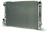 2005-2009 Ford Mustang AFCO Aluminum Polished Crossflow Radiator