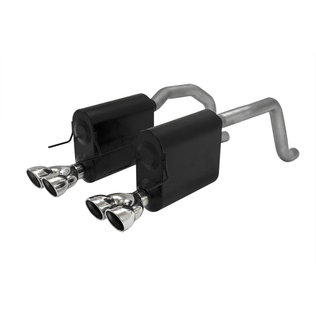 2005-2008 C6 Corvette Flowmaster Force II Catback Exhaust System