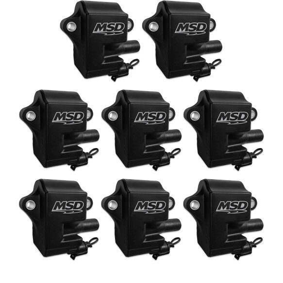 LS1/LS6 MSD Pro Power Black Coil - Set of 8