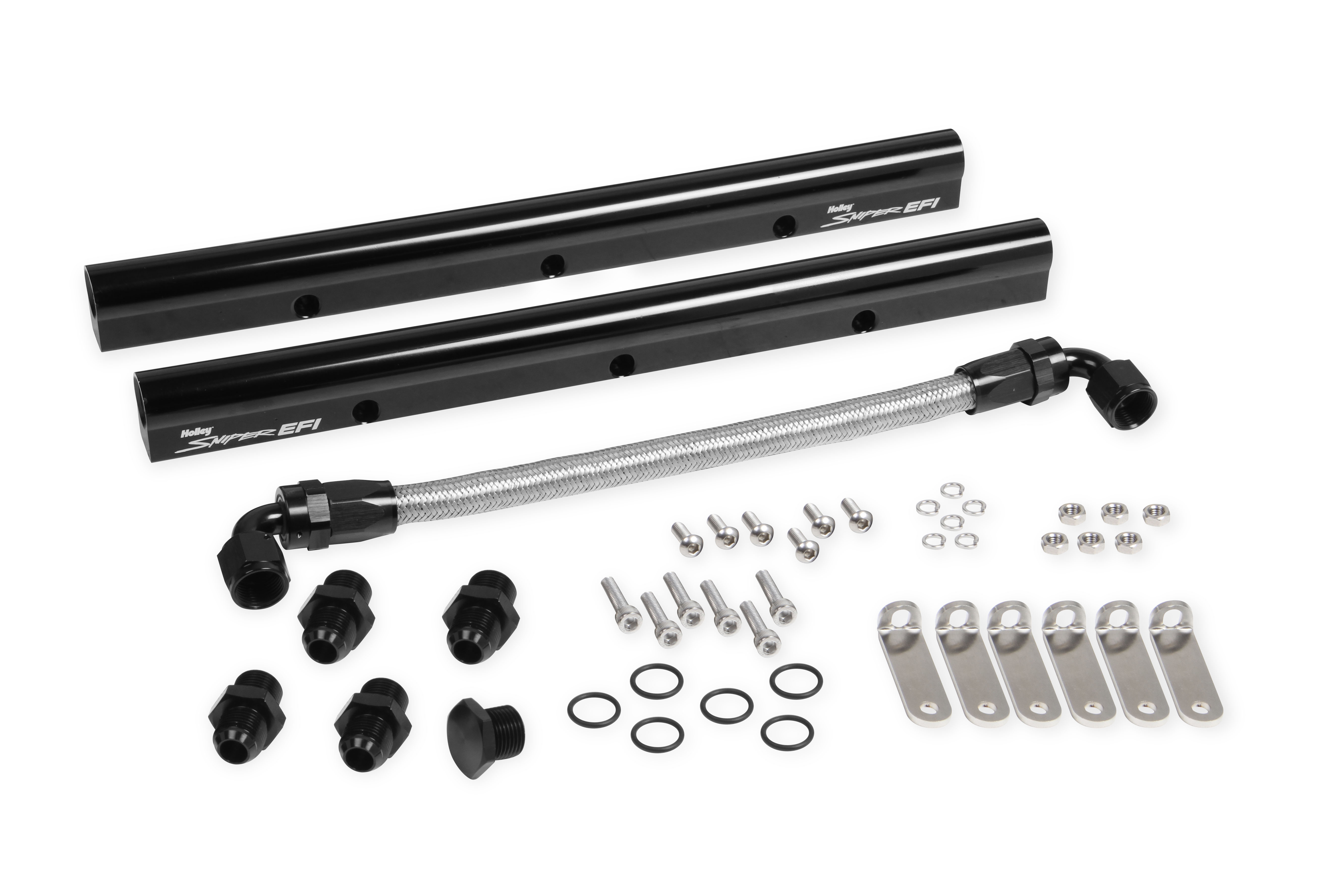LS7 Holley Sniper Fuel Rail Kit - For Sniper Intake Manifolds